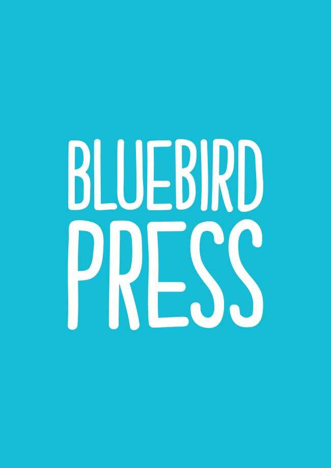 Bluebird Press Branding Logo Design
