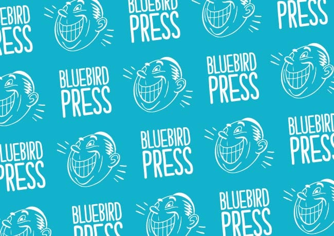 Bluebird Press Branding and Website