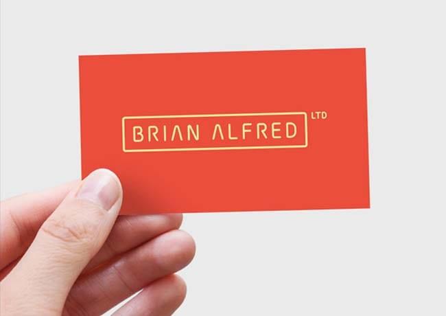 Brian Alfred Branding Design