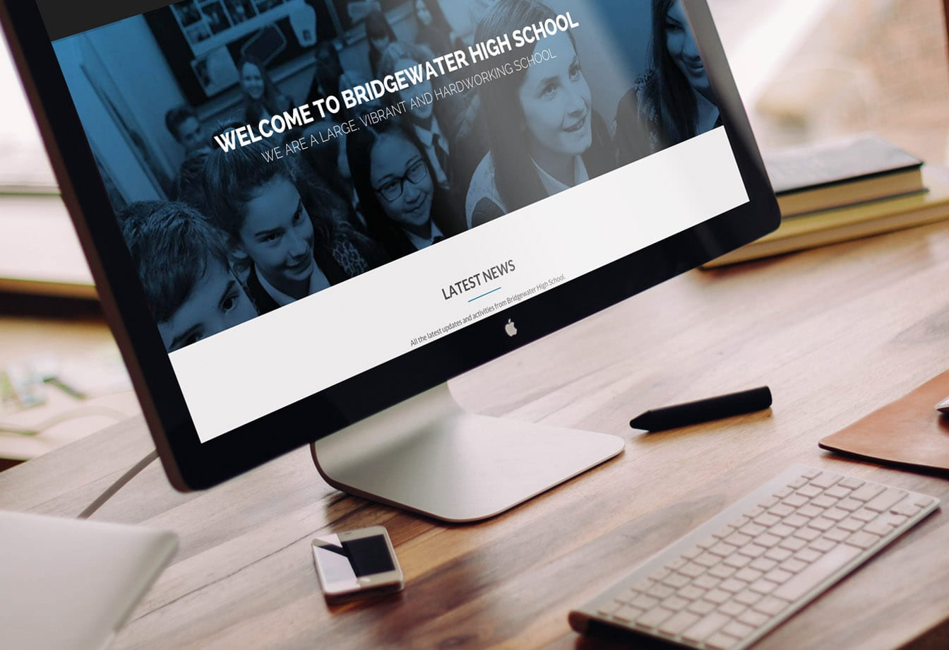 Bridgewater High School Responsive Website