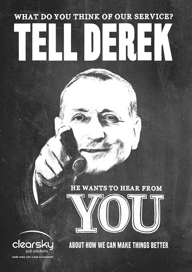 ClearSky Tell Derek Campaign