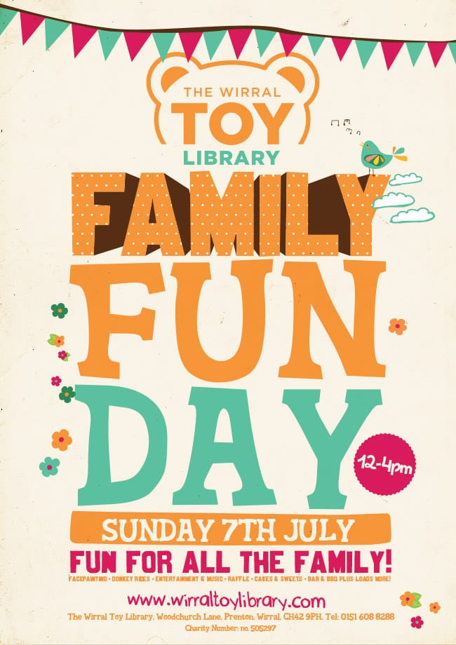 Family Fun Day Liverpool Advert