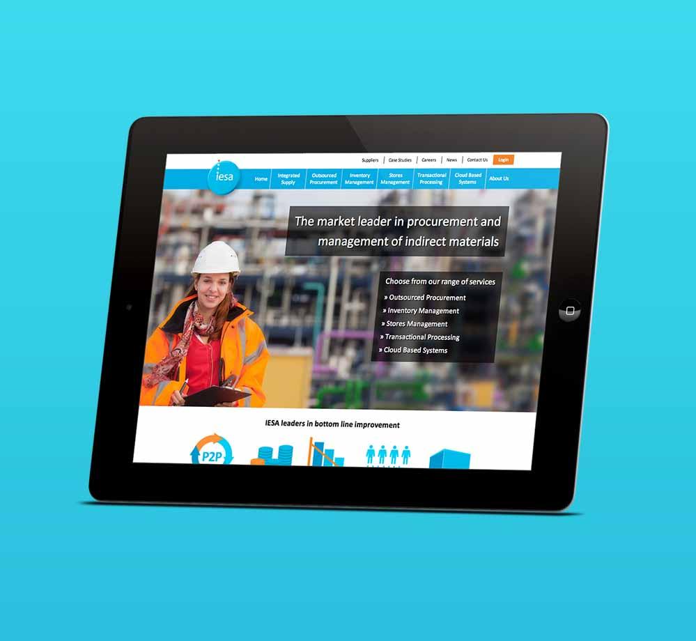 IESA Responsive Website IPAD