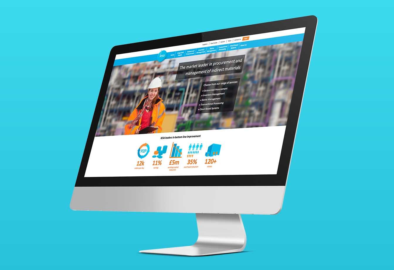 IESA Responsive Website imac