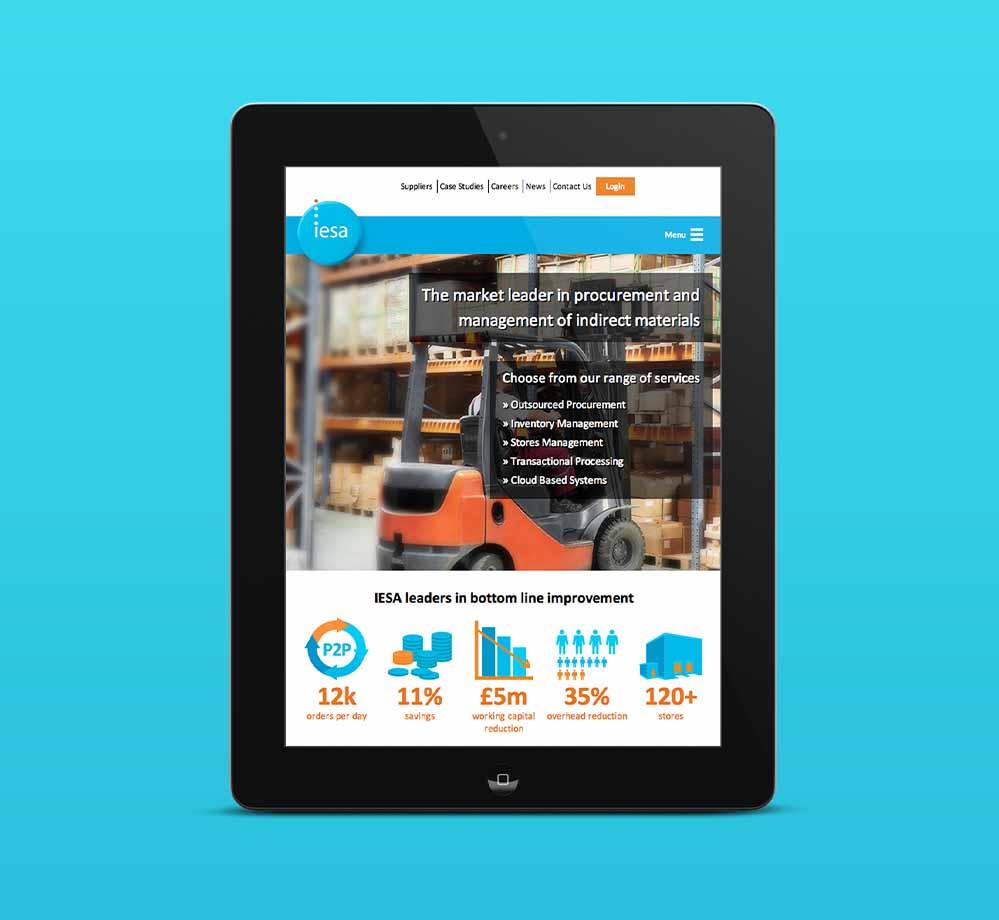 IESA Responsive Website
