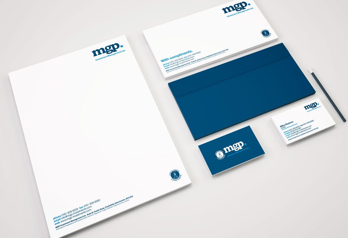 MGP Stationery Branding
