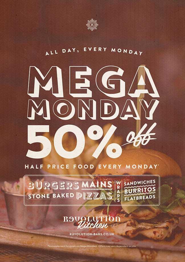 Mega Monday Revolution Campaign