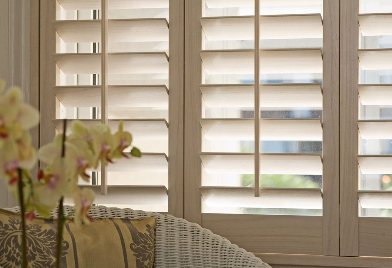 Plantation Shutters Close Up