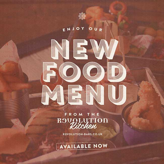 Revolution Food Menu 2014-15