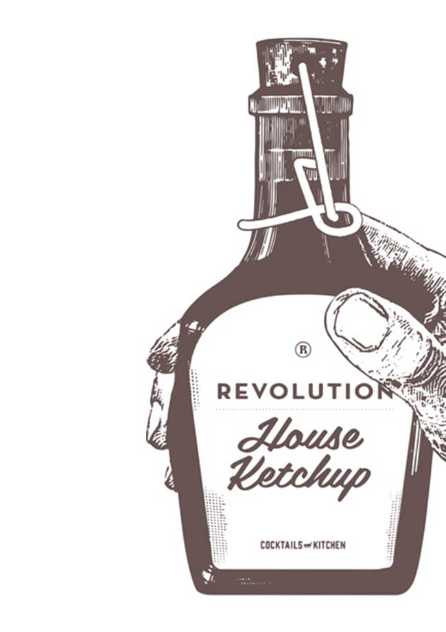 Revolution Ketchup Illustration