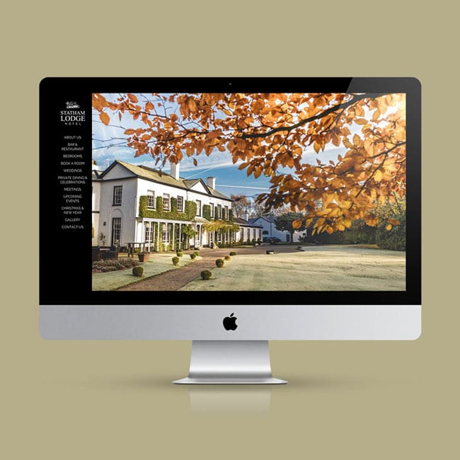 Statham Lodge Hotel Website