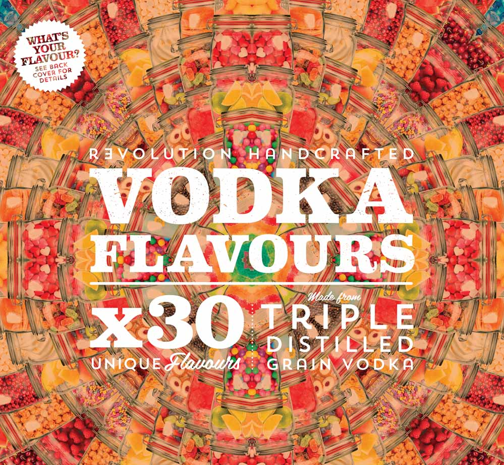 Vodka Flavours Artwork