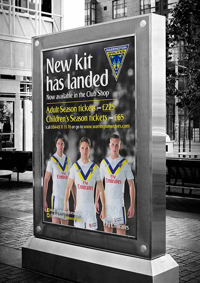 Warrington Wolves Away Kit