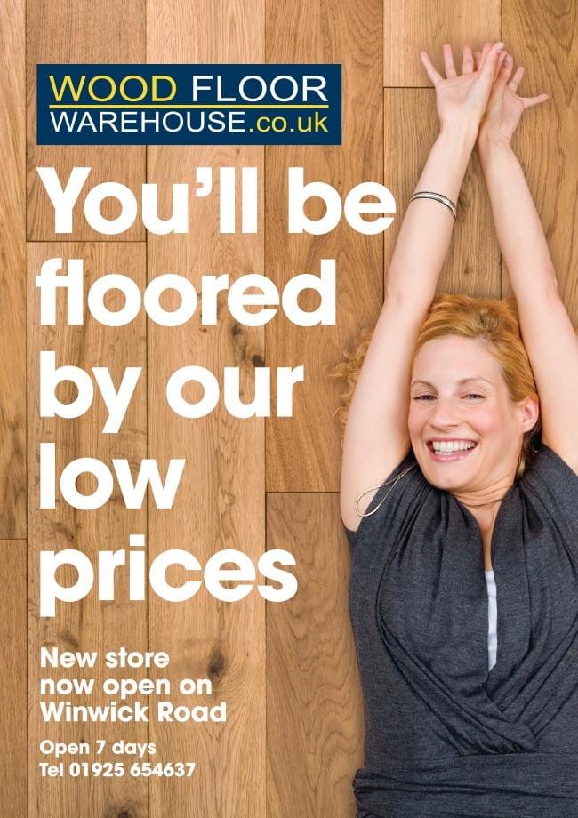 Woodfloor Warehouse Advert
