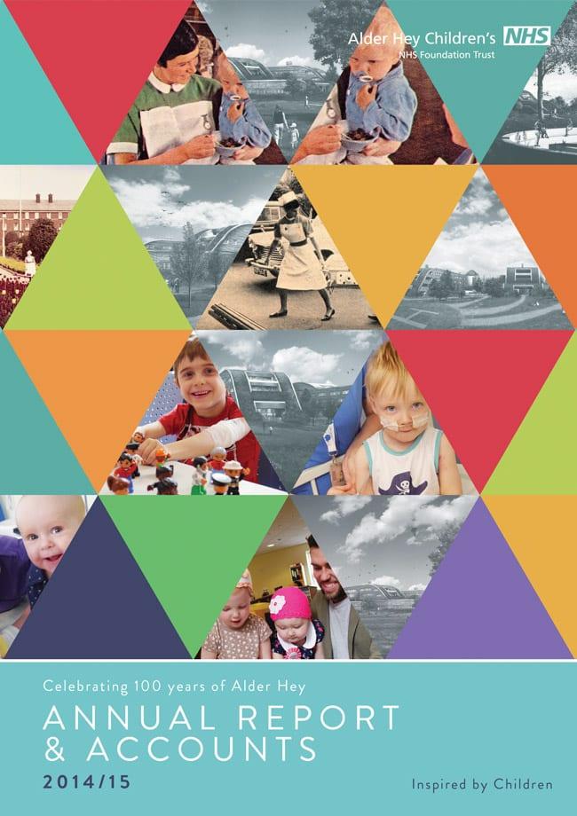 alder hey annual report cover