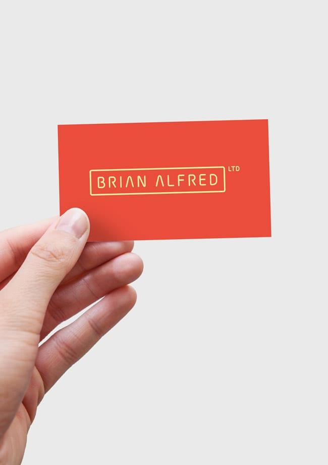 brian alfred card