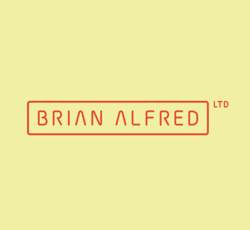 brian alfred logo cream