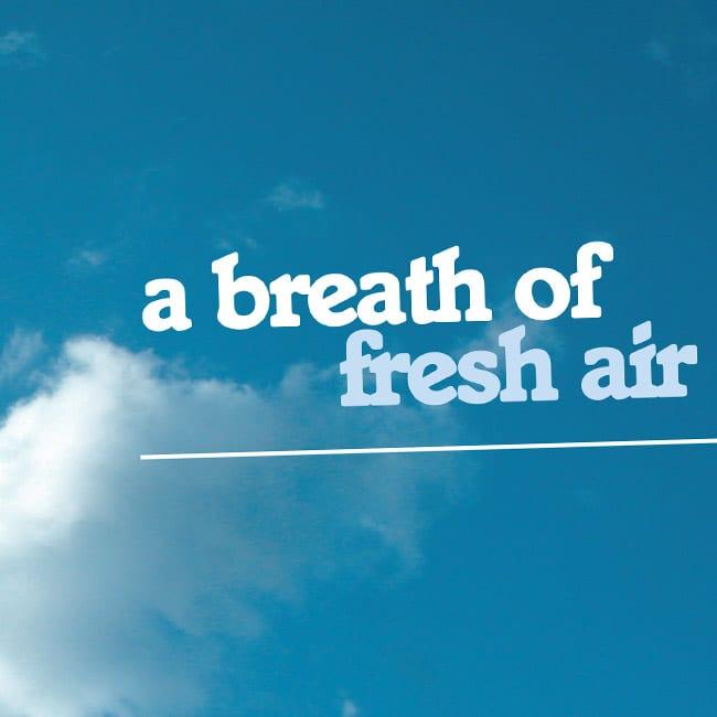 copywriting touchstone advert design blue sky
