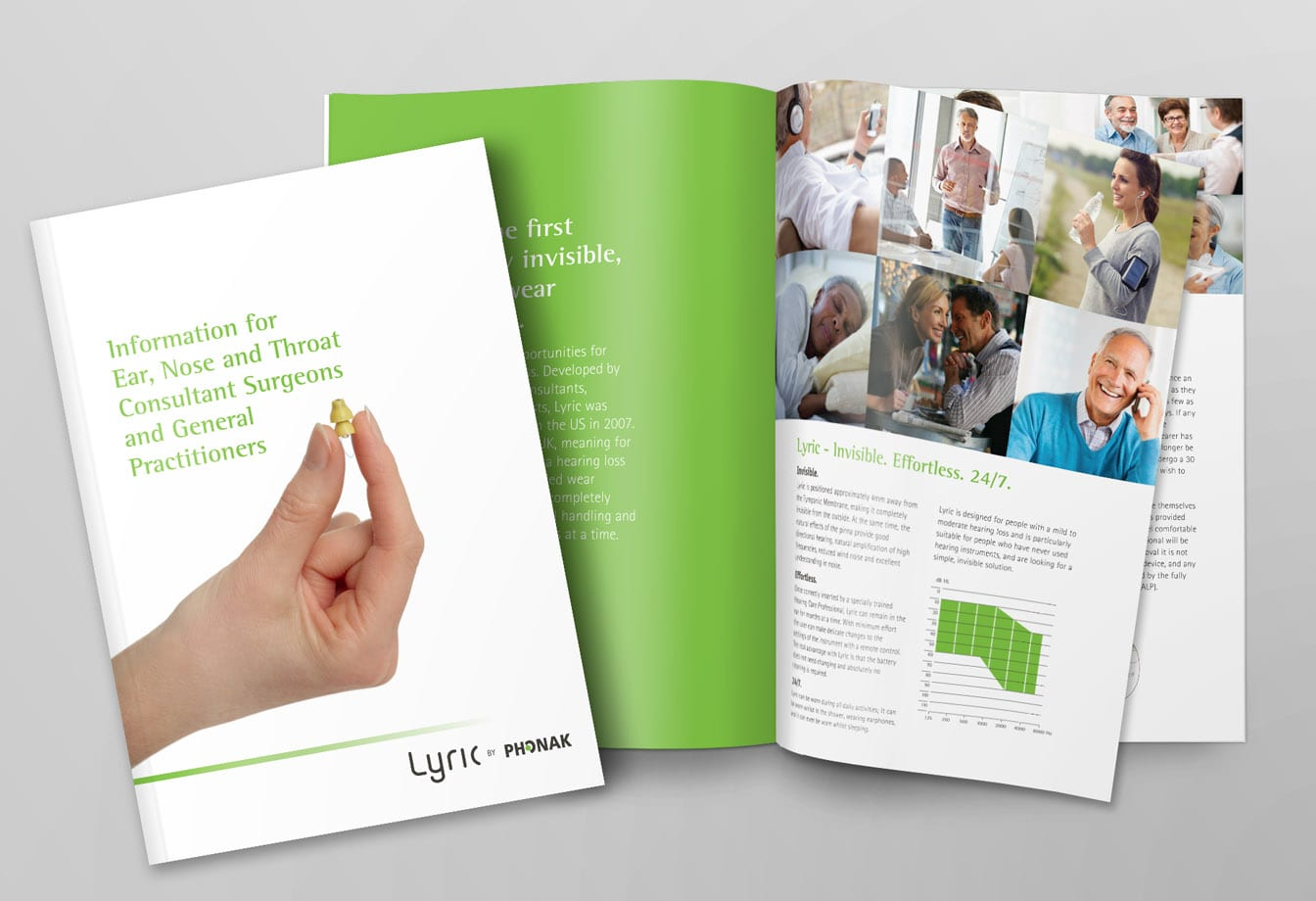 phonak brochure corporate design
