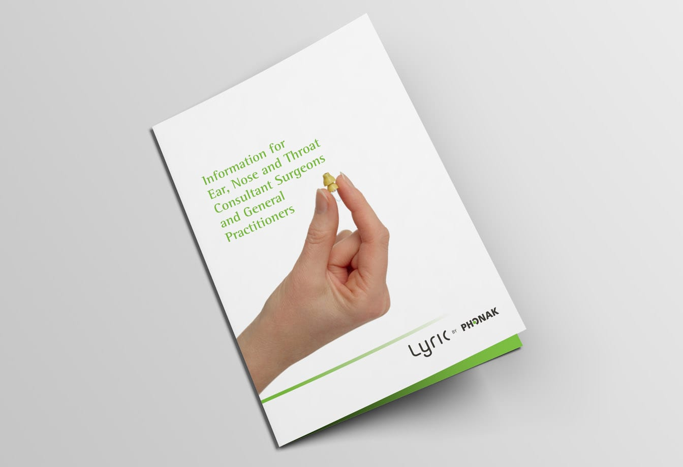 phonak brochure design cover