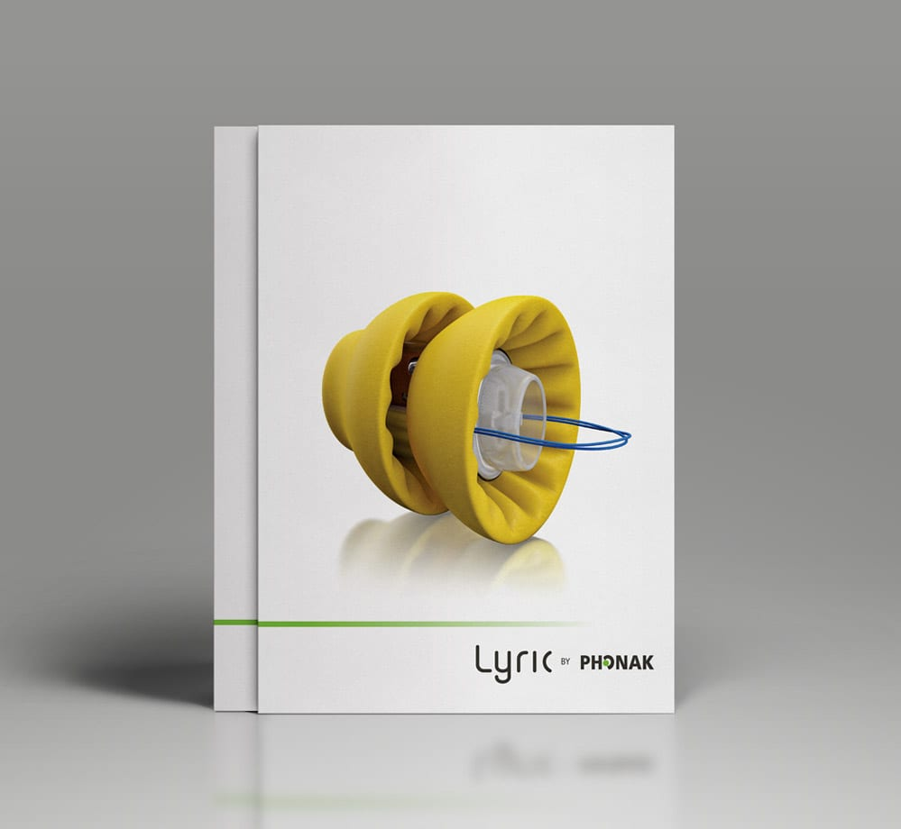 phonak corporate folder design