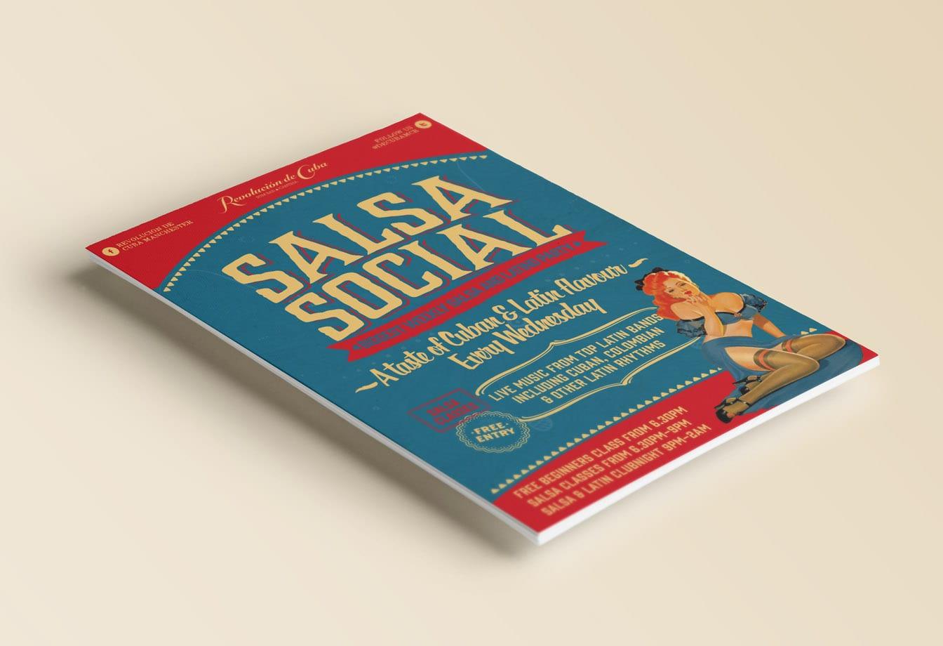 salsa social flyer