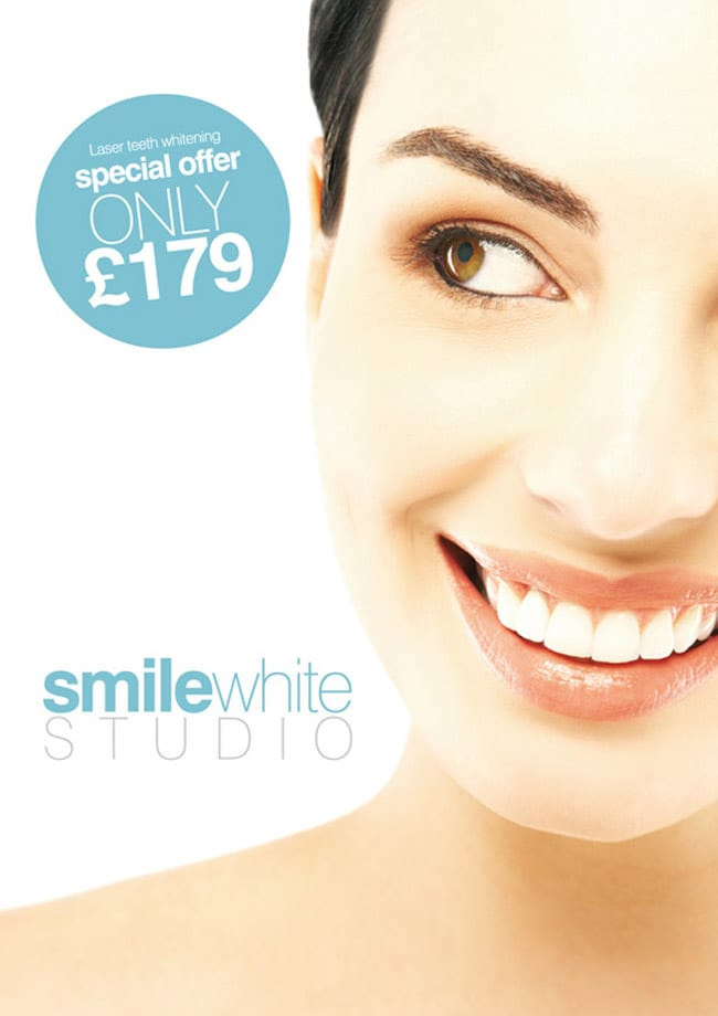 smile press advert flyer design