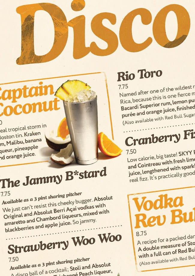 spirit of vodka cocktails
